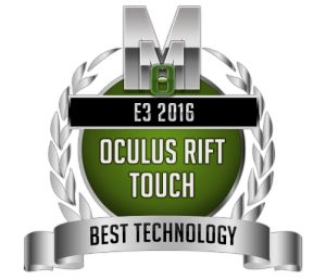 Best Technology -  Oculus Rift Touch- E3 2016