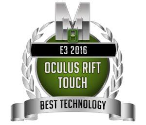 Best Technology -  Oculus Rift Touch- E3 2016