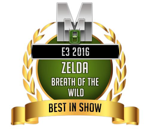 Best in show - Zelda Breath of the Wild - E3 2016