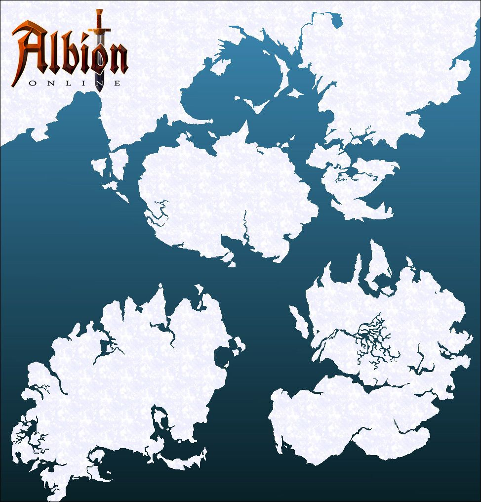 Albion Online World Map Revised In Final Beta Mmogames Com