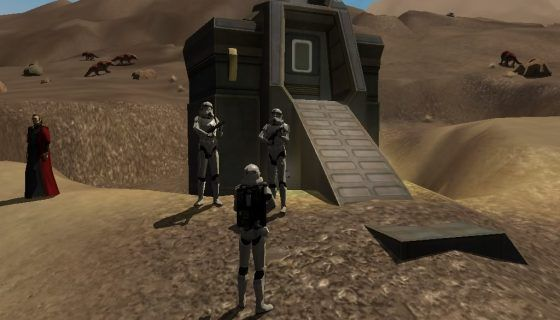 Star Wars Galaxies Storm Trooper Bunker
