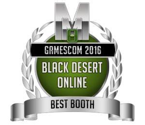 Best Booth - Black Desert Online - Gamescom 2016