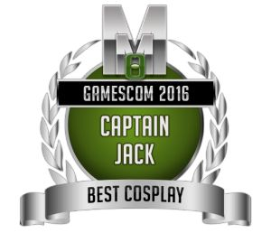 Best Cosplay - Captain Jack - Gamescom 2016