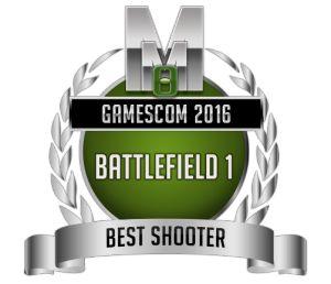 Best Shooter - Battlefield 1 - Gamescom 2016