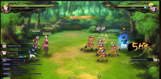 Naruto Online - Battle