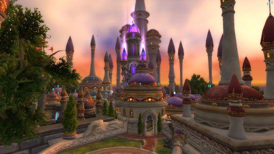 New Dalaran World of Warcraft Broken Shore