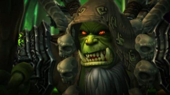Gul'dan in World of Warcraft Broken Shore