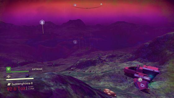 No Man's Sky Terrain Screenshot