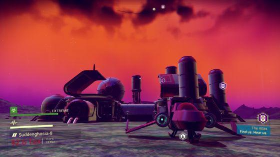 No Man's Sky Outpost Screenshot