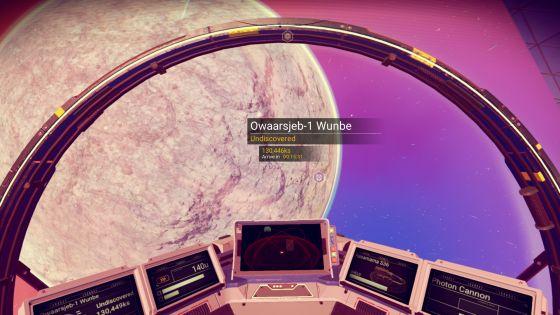 No Man's Sky Space Screenshot