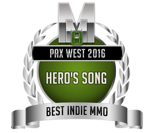 Best Indie MMO - Hero's Song - PAX West 2016