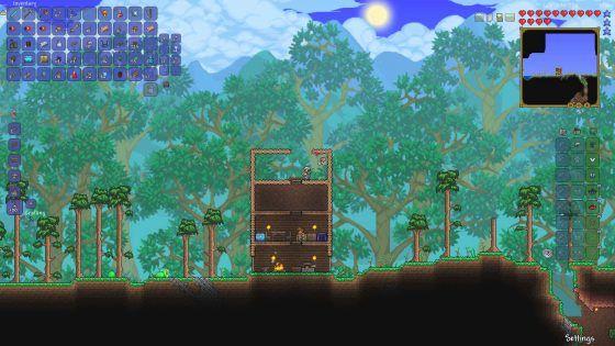 Terraria Screenshot Games Like Minecraft