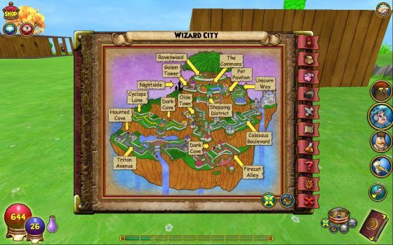 wizard101-home-button