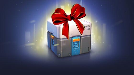 Overwatch Christmas Event - Christmas Loot Box