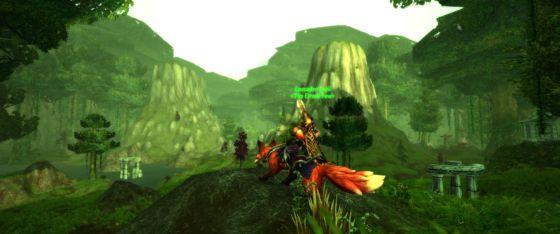 Warcraft Isarii Fox Feralas