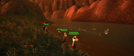 Warcraft Paladin Fishing Party
