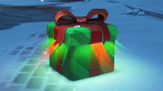 Overwatch Winter Wonderland - Christmas Loot Boxes