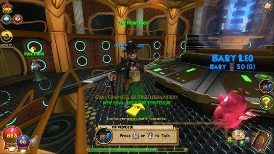 wizard-101-tardis the Telegraph Box