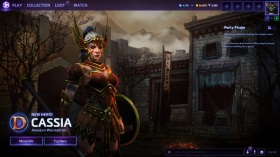 Heroes of the Storm Cassia Preview