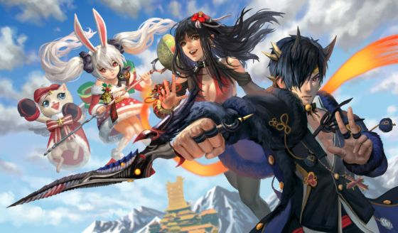 master x master and blade and soul
