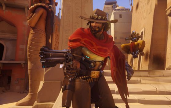 Play of the Fortnight: Overwatch Lore - McCree and Mei Interact