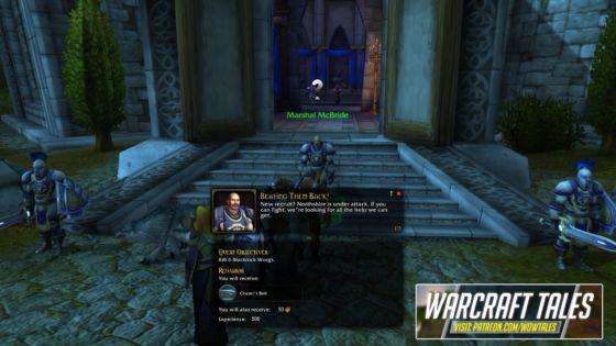 warcraft tales add-on