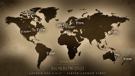morrowind global launch