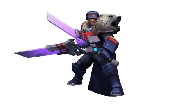 Heroes of the Storm Commandant_Varian_Skin