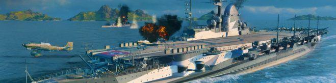 World of Warships Graf Zeppelin ingame