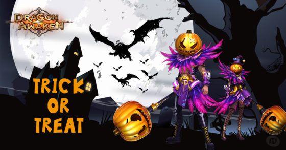Dragon Awaken Halloween Event Gift Pack Giveaway