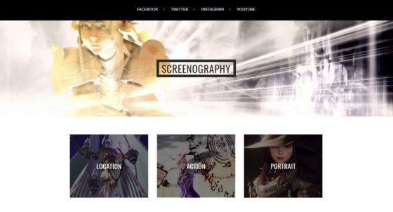 Creating a Screenshot Gallery Site