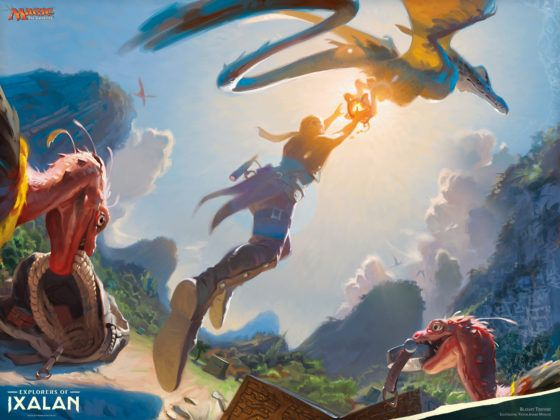 magic: the gathering arena closed beta date
