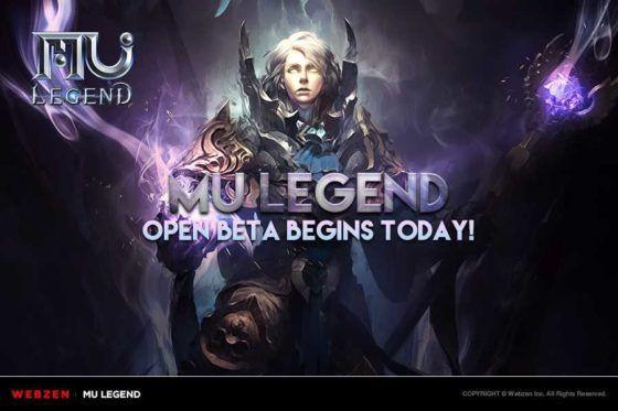 mu legend open beta launch
