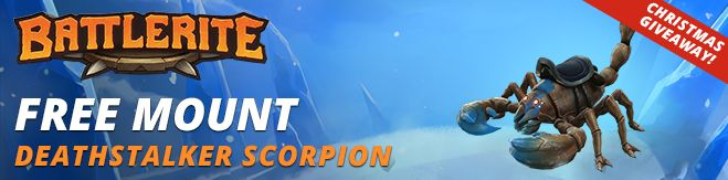 Battlerite Deathstalker Scorpion Mount Giveaway