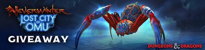 neverwinter spider mount how to get