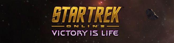 Star Trek Online Victory is Life Banner
