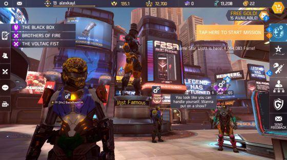 Shadowgun Legends hub