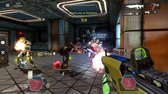 Shadowgun Legends sentry gun skill