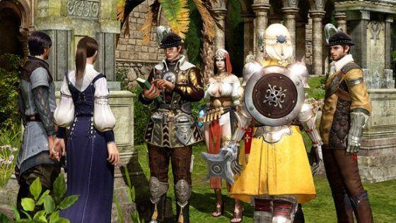 Triple A MMORPGs Bless Online