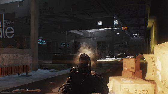 Escape from Tarkov Beta Interchange Shopping Mall Shootout