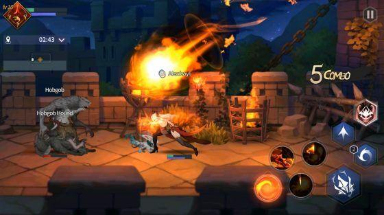 Magia Charma Saga Fire Orb Skill