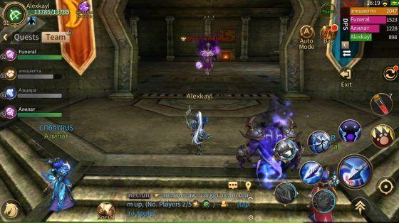 Era of Legends Review Eternal Clan HQ Dungeon Boss