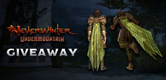 Neverwinter cloak of the vine giveaway