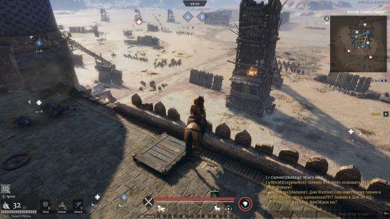 Conqueror's Blade Preview Castle Siege Defense