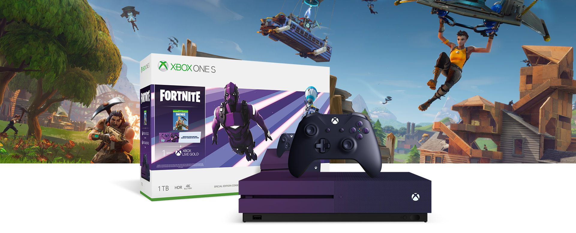 Microsoft Introduces Limited Edition Fortnite Xbox One S ...