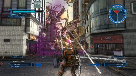 Earth Defense Force 5 Fencer class