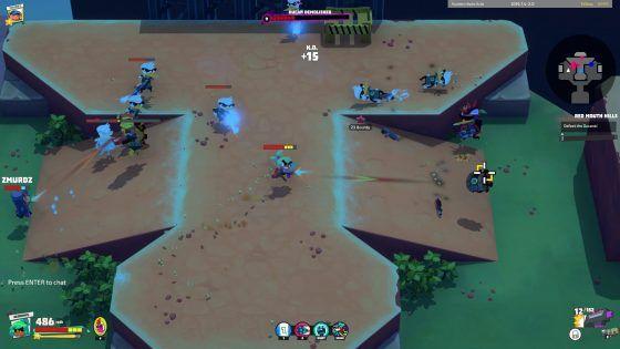 Relic Hunters Legend Co-op Boss Battle 2